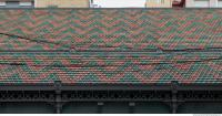 roof ceramic patterned