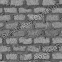 seamless wall bricks bump 0003