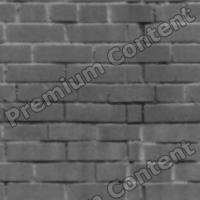 seamless wall bricks bump 0009