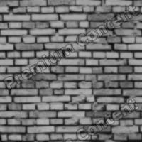 seamless wall bricks bump 0013