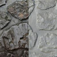 RAW 3D Scan of Wall Stones #03