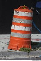 road cone damaged 0005