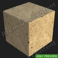 PBR substance preview ground sandy soil