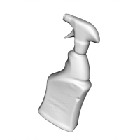 3D Scan of Bottle Spray