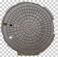 decal manhole cover 0003