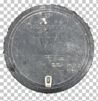 decal manhole cover 0004