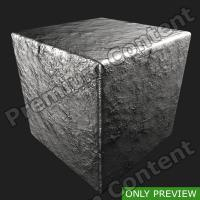 PBR substance preview silver 0004