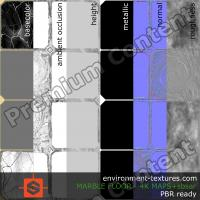 PBR substance texture marble floor damaged DOWNLOAD