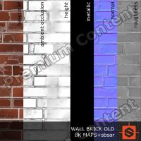 PBR wall brick old texture DOWNLOAD