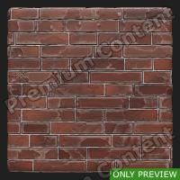 PBR wall brick old preview 0002