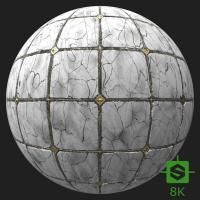 PBR Substance Material of Floor Marble #5
