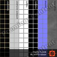 PBR tiles floor texture DOWNLOAD
