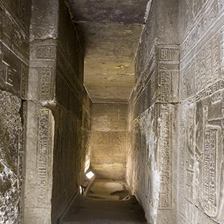Egypt Dendera Interiors
