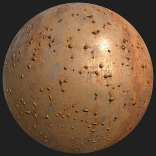 Metal Rusted PBR
