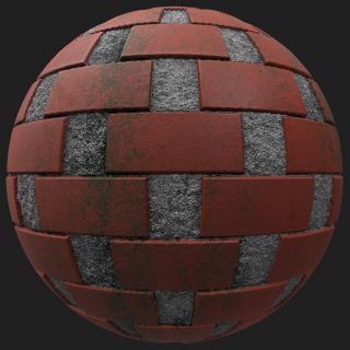 Wall Brick Dirty PBR